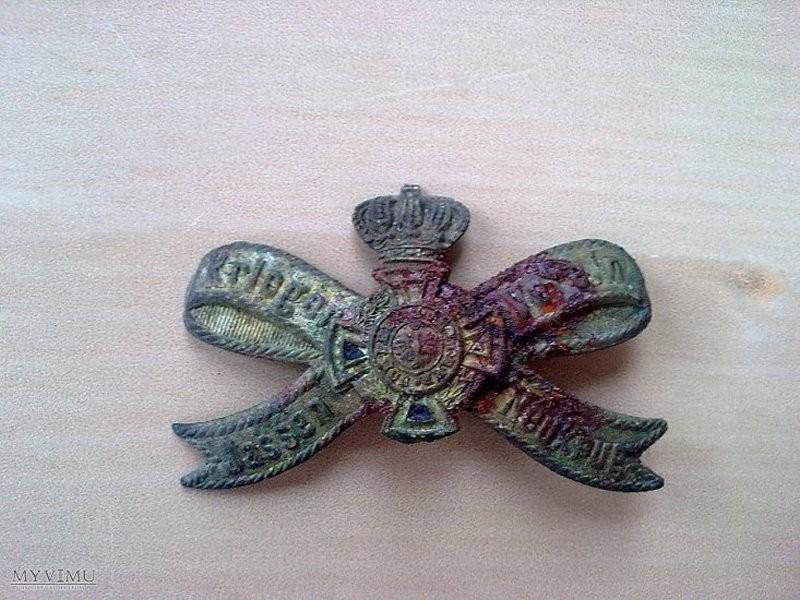 Pruska odznaka Jasień soszyce
